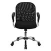 <strong>Mid-Back Mesh Office Chair with Chrome Base</strong> by Flash Furniture