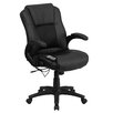 <strong>Mid-Back Mesh Executive Swivel Office Chair with Arms</strong> by Flash Furniture