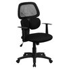 <strong>Mid-Back Mesh Chair with Flexible Dual Lumbar Support</strong> by Flash Furniture