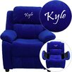 <strong>Flash Furniture</strong> Kids Personalized Deluxe Recliner