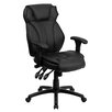 Flash Furniture High-Back Leather Executive Office Chair with Triple Paddle Control