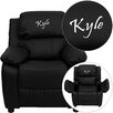 <strong>Flash Furniture</strong> Personalized Kids Recliner