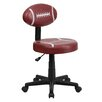 <strong>Flash Furniture</strong> Football Mid-Back Kid's Desk Chair