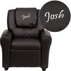 <strong>Kids Personalized Recliner</strong> by Flash Furniture