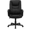 <strong>High-Back Leather Executive Chair with Double Padded Cushions</strong> by Flash Furniture