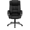 <strong>Double Padded High-Back Office Chair with Titanium Base</strong> by Flash Furniture