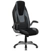<strong>High-Back Mesh Executive Office Chair with Flip Up Arms</strong> by Flash Furniture
