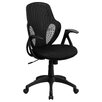 <strong>Mid-Back Executive Mesh Chair with Nylon Base</strong> by Flash Furniture