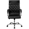 <strong>High-Back Leather Executive Office Chair</strong> by Flash Furniture