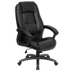 Flash Furniture Personalized High-Back Leather Executive Office Chair