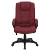 <strong>High-Back Executive Chair with Padded Arms</strong> by Flash Furniture