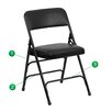 <strong>Hercules Series Folding Chair (Set of 4)</strong> by Flash Furniture