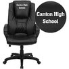 Flash Furniture Personalized Leather Executive Office Chair