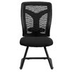 Flash Furniture Mesh Side Chair with Mesh Seat and Adjustable Lumbar Support