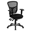 <strong>Flash Furniture</strong> Mid-Back Mesh Chair with Triple Paddle Control