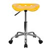<strong>Vibrant Tractor Seat and Stool</strong> by Flash Furniture
