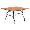 Flash Furniture Square Folding Banquet Table