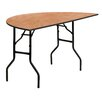 "Flash Furniture 60"" Semi Circle Folding Table"
