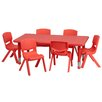 "Flash Furniture 48"" x 24"" Rectangular Classroom Table"
