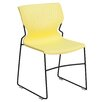 Flash Furniture Hercules Series Full Back Stackable Chair with Frame