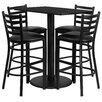 Flash Furniture 5 Piece Pub Dining Set