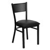 <strong>Flash Furniture</strong> Hercules Series Grid Back Side Chair