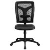 Flash Furniture High-Back Task Chair with Padded Leather Seat