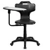 Flash Furniture Mid-Back Task Chair with Swivel Tablet Arm