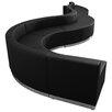 Flash Furniture Hercules Alon Series 9 Piece Leather Reception Configuration Set