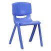 """<strong>18"""" Plastic Classroom Stackable School Chair</strong> by Flash Furniture"""