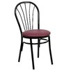 Flash Furniture Hercules Series Fan Back Metal Chair