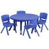 "Flash Furniture 33"" Round Classroom Table"