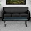 Flash Furniture Hercules Diplomat Series Leather Sofa