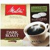 Melitta Dark Roast Soft Pod Coffee (Pack of 18)
