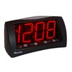 Westclox Digital LED Alarm Clock with Battery Backup