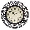 "Westclox 12"" Round Filigree Clock"