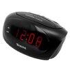 """Westclox 0.6"""" LED Alarm Clock"""