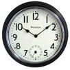 """Westclox 12"""" Dial Wall Clock"""