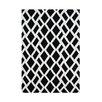 Alliyah Rugs Black/White Area Rug
