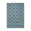 Alliyah Rugs Aqua Area Rug
