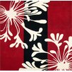Alliyah Rugs Sabrina Red Floral Rug