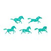 Phillips Collection 5 Piece Galloping Horses Art Wall Décor Set