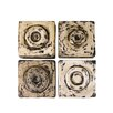 Phillips Collection 4 Piece Antique Cuadritos Tiles Wall Décor Set