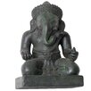 Phillips Collection Seated Ganesh Wall Sculpture
