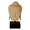 Carved Buddha Head Statue