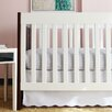 Oliver B Baby Cindy Scallop 2 Piece Crib Bedding Set