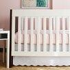 Oliver B Baby Scallop 2 Piece Crib Bedding Set