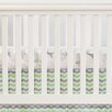 Oliver B Chevron Crib Skirt