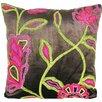 Design Accents LLC Cherry Blossom Velvet Pillow