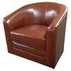 Emerald Home Furnishings Milo Swivel Slipper Chair